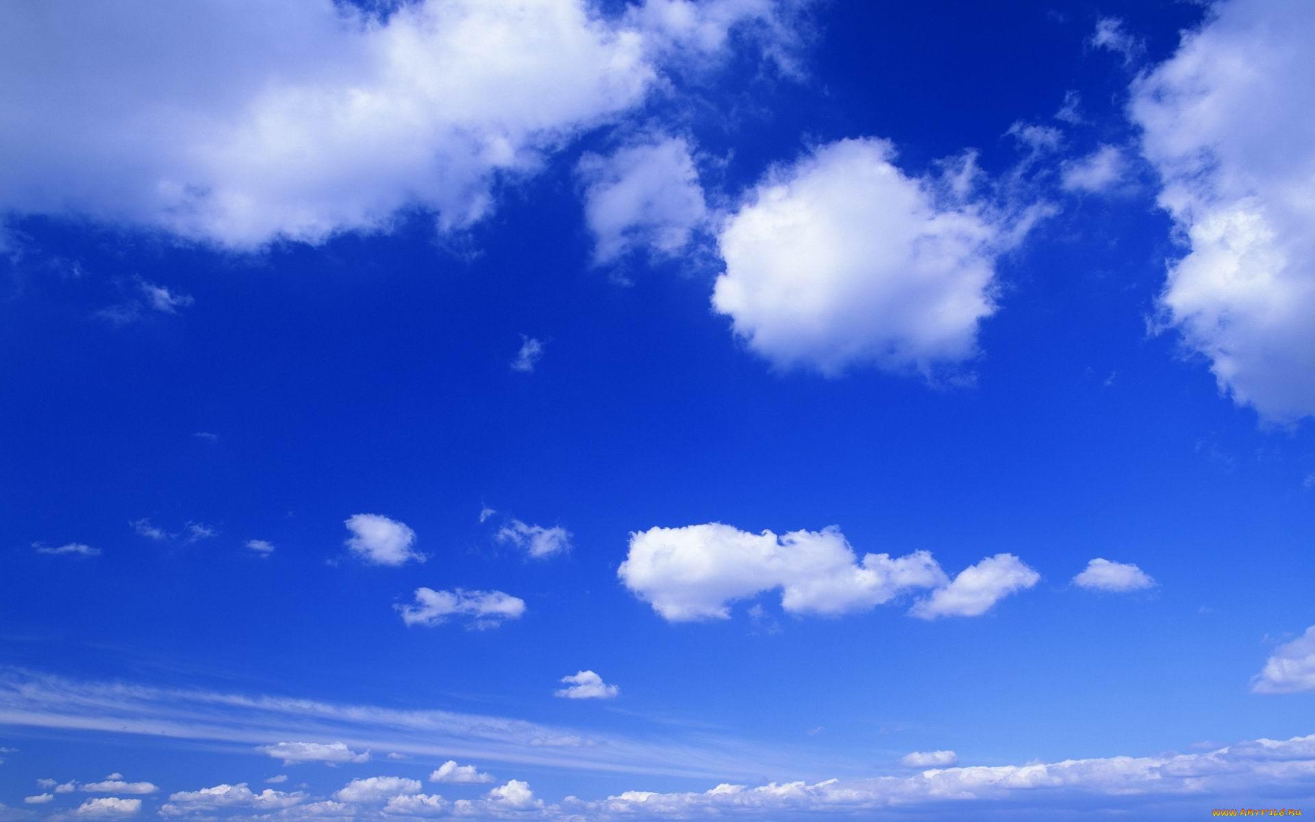 Фото как сделать небо синим